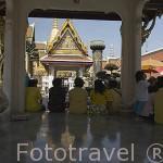 Interior del complejo del Gran Palacio (1782). Alberga estupas y templos varios, asi como edificios gubernamentales. BANGKOK. Tailandia