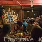 Espectaculo de teatro thailandes en la sala restaurante Piman. BANGKOK. Tailandia