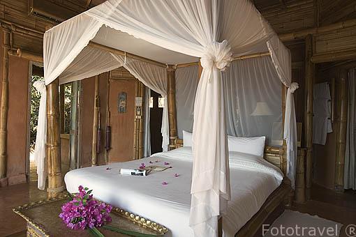 Habitación. Hotel Resort Phu Chaisai Mountain. En Mae Chan. CHIANG RAI. Tailandia