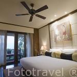 Habitacion. Hotel Anantara Resort Spa Golden Triangle. Triangulo de Oro. Chiang Rai. Tailandia