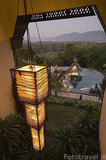 Hotel Anantara Resort Spa Golden Triangle. Triangulo de Oro. Chiang Rai. Tailandia