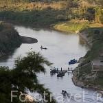 El rio Mekong. Triangulo de Oro. CHIANG RAI. Tailandia