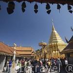 Templo Wat Phrathat Doi Suthep Rajvoravihara, en la montaña Suthep. CHIANG MAI. Tailandia