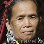 Mujer de la tribu de montaña Karen Kayow de religion catolica. Poblado de BAN MAI NAI SOI. A 35km de Mae Hong Son. Tailandia