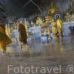 Wat Tham Seua (Templo del Tigre), cerca de Krabi. Tailandia