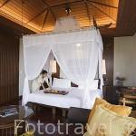 Habitación. Hotel - Spa Pimalai. Sur de la isla de KO LANTA YAI. Tailandia