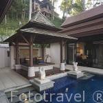 Piscina de un bungalow. Hotel - Spa Pimalai. Sur de la isla de KO LANTA YAI. Tailandia