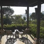 Vista de una habitacion sobre el Mar de Andaman. Hotel - Spa Pimalai. Sur de la isla de KO LANTA YAI. Tailandia