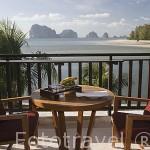 Vista desde el hotel Spa Amari Trang sobre el Mar de Andaman. TRANG. Tailandia