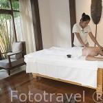 Sala de masaje. Hotel Spa Amari Trang sobre el Mar de Andaman. TRANG. Tailandia