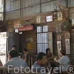 Cafeteria - Restaurante de comida thailandesa regentado por chinos hokkien. Ciudad de TRANG. Tailandia