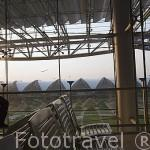 El aeropuerto de Suvarnabhumi es el más moderno de la ciudad de BANGKOK. Tailandia