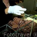 Tienda de chocolates artesanales Van Hoorebeke. GANTE. Belgica