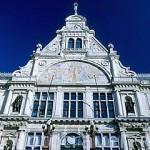Fachada del teatro nacional. GANTE. Belgica