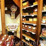 Tienda de caramelos y dulces Temmerman, en la calle Breydel. GANTE. Belgica