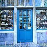 Fachada de la tienda de caramelos y dulces Temmerman, en la calle Breydel. GANTE. Belgica
