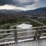 Vista desde el Edificio inteligente Empresas Publicas de Medellin (EPM). MEDELLIN. Colombia