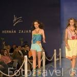 Desfile de modelos con prendas y accesorios del diseñador Hernan Zajar. MEDELLIN. Departamento de Antioquia. Colombia