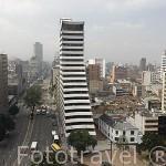 Vista de la carrera X dirección sur. BOGOTA. Colombia.