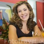La actriz y cantante Lady Noriega. BOGOTA. Colombia. (MR.069)