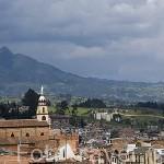 Pueblo de ZIPAQUIRA, conocido por fabricas de ladrillos. Aqui se encuentran las minas de Sal. Cerca de BOGOTA. Colombia.