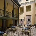 Interior. Hotel de la Opera. En calle 10. Barrio de la Candelaria. BOGOTA. Colombia
