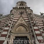 La iglesia del Carmen. (estilo neogotico) BOGOTA. Colombia