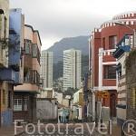 La calle del Cajoncito. BOGOTA. Colombia