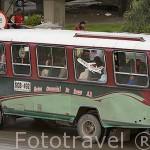 Autobus de transporte publico. BOGOTA. Colombia