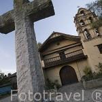 Iglesia. Recreación de pueblo llamado El Portico. Aqui se graban telenovelas entre otras series. La Sabana, en las afueras de BOGOTA. Colombia