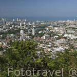 La ciudad de CARTAGENA DE INDIAS, frente al mar Caribe. Colombia