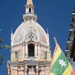 Torre de la Basílica Menor. Su construcción comenzó en 1575. terminada en 1612. Ciudad Vieja. CARTAGENA DE INDIAS. Colombia