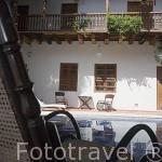 Hotel Casa del Arzobispo con patio estilo colonial. Ciudad Vieja. CARTAGENA DE INDIAS. Colombia