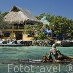 Hotel Isla del Pirata. Islas del Rosario. CARTAGENA DE INDIAS. Departamento de Bolivar. Colombia