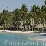 Playa Blanca. Islas del Rosario. Mar Caribe. CARTAGENA DE INDIAS. Departamento de Bolivar. Colombia