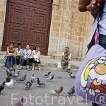 Plaza de San Pedro Claver CARTAGENA DE INDIAS. Ciudad patrimonio de la Humanidad, UNESCO. Colombia. Suramerica
