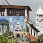 """La población de JUAYUA. En la """"ruta de las Flores"""". El Salvador. Centro américa."""