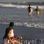 Playa al sur de La Libertad. El Salvador. Centro américa.