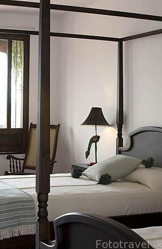 Habitación. Hotel Las Puertas de Suchitoto. Pueblo de SUCHITOTO. El Salvador. Centro américa.