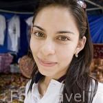 Chica salvadoreña. SAN SALVADOR. Centro américa.
