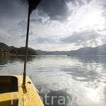 El lago de Coatepeque. El Salvador. Centro américa.