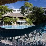 Vista del hotel Sheraton Presidente. Ciudad de SAN SALVADOR. El Salvador. Centro américa.