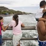 El muelle del puerto de La Libertad junto a la playa el mismo nombre. Departamento de la Libertad. El Salvador. Centro américa.