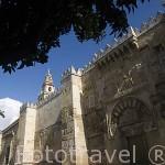 La puerta de San Miguel. Mezquita Catedral. Ciudad de CORDOBA. Patrimonio de la Humanidad. Andalucia. España