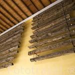 Tablones originales del techo de la Mezquita Catedral. Ciudad de CORDOBA. Patrimonio de la Humanidad. Andalucia. España