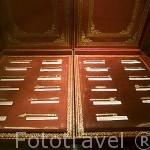 Caja con instrumentos quirurgicos. Interior del museo de las 3 Culturas. Ciudad de CORDOBA. Patrimonio de la Humanidad. Andalucia. España