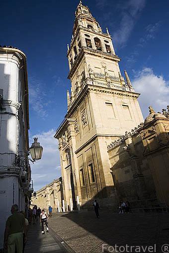 La Puerta del Perdon en la calle Cardenal Hererro. Mezquita Catedral. Ciudad de CORDOBA. Patrimonio de la Humanidad. Andalucia. España