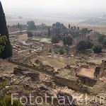 Vista general del conjunto arqueologico Madinat al-Zahra. En las afueras de la ciudad de CORDOBA. Andalucia. España