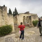 El conjunto arqueologico Madinat al-Zahra. En las afueras de la ciudad de CORDOBA. Andalucia. España