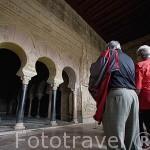 Interior del Salon de Abd al-Rahman III. El conjunto arqueologico Madinat al-Zahra. En las afueras de la ciudad de CORDOBA. Andalucia. España